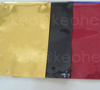 Colored Aluminium Pouches