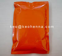 Orange Color Pouch